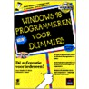 Windows 98 programmeren voor Dummies door S.R. Davis
