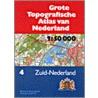 Grote topografische atlas van Nederland door Onbekend