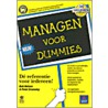 Managen voor Dummies door Peter Economy