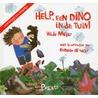 Help, een dino in de tuin door H. Meijer
